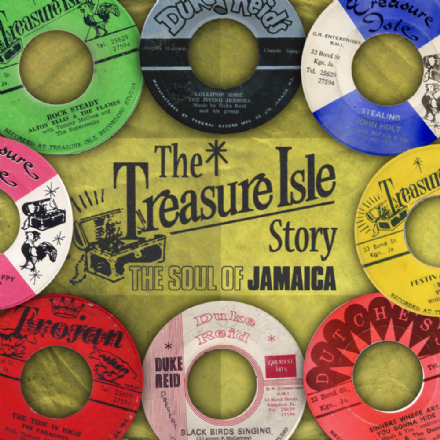 Various - The Treasure Isle Story: The Soul Of Jamaica (Trojan) 4xCD Box